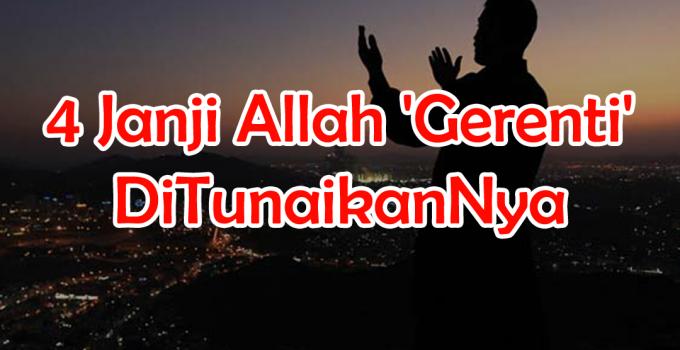 4 Janji Allah Gerenti DiTunaikanNya