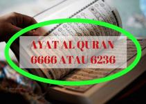 Benarkah Bilangan Ayat Al Quran 6666 Atau 6236